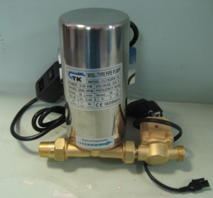 Как сделать насос для повышения давления воды